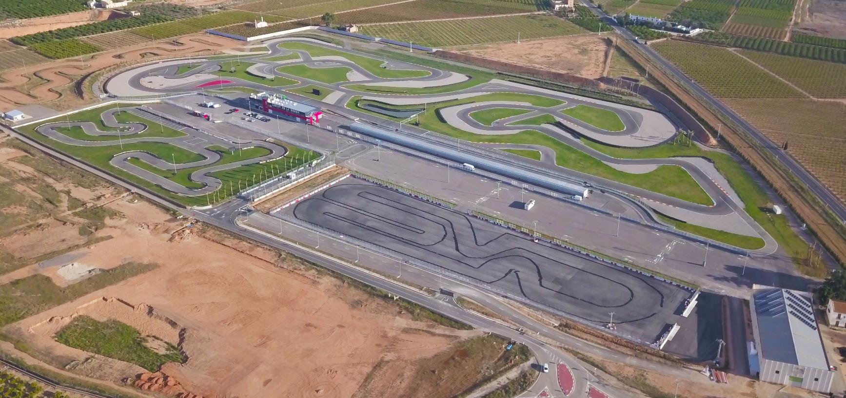 Circuito La Ribera : Circuit de la ribera spain will host the fim supermoto
